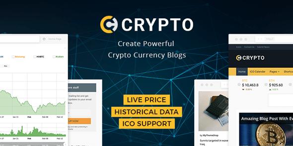 MyThemeShop Crypto - Download Bitcoin & Cryptocurrency WordPress Theme
