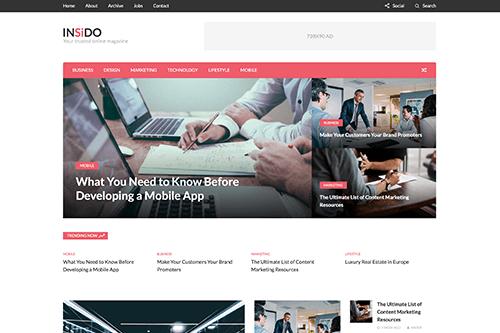 Theme-Junkie Insido - Download News and Magazine WordPress Theme
