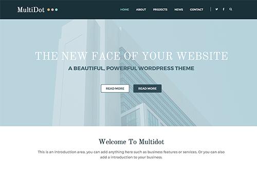 Theme-Junkie MultiDot - Download Multipurpose Theme for WordPress
