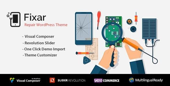ThemeForest Fixar - Download Phone & Computer Repair WordPress Theme