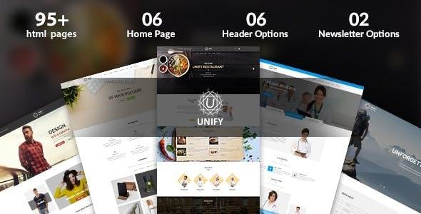 ThemeForest Unify - Download Multipurpose Joomla Template