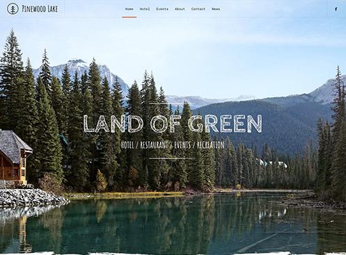 YooTheme Pro Pinewood Lake - Download Responsive Tourism Joomla Template