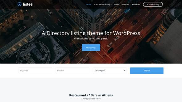 CssIgniter Listee - Download Business Directory WordPress Theme