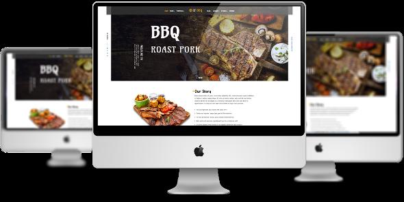 LT BBQ Pro - Download Responsive Barbecue Joomla Template