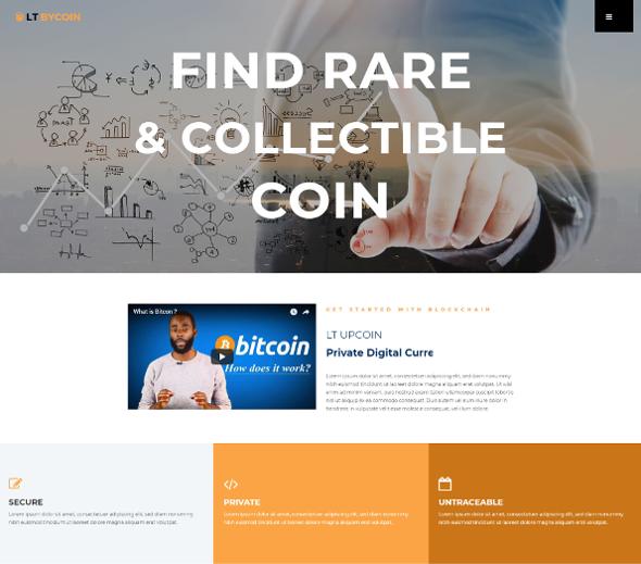 LT ByCoin Pro - Download Bitcoin WordPress Theme