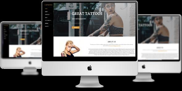 LT Tattoo Pro - Download Responsive Tattoo Joomla Template