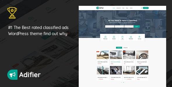 ThemeForest Adifier - Download Classified Ads WordPress Theme