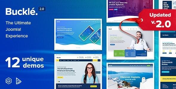 ThemeForest Buckle - Download Responsive Multi-Concept Joomla Template