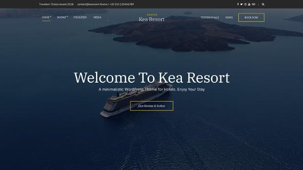 CssIgniter Kea - Download Hotel Theme for WordPress
