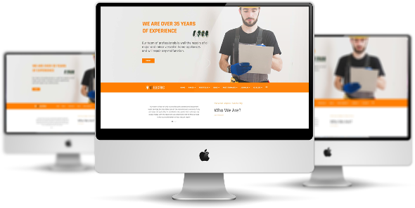 LT Electric Pro - Download Electrical Joomla Template