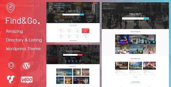 ThemeForest Findgo - Download Directory & Listing WordPress Theme