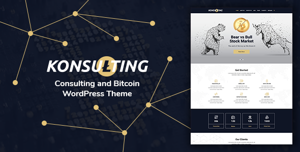 ThemeForest Konsulting - Download Consulting & Bitcoin WordPress Theme