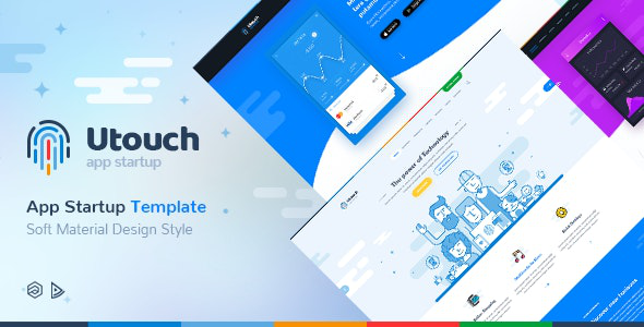 ThemeForest Utouch Startup - Download Multi-Purpose Business Technology and Digital Marketing Joomla Template