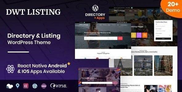 ThemeForest DWT Listing - Download Directory & Listing WordPress Theme