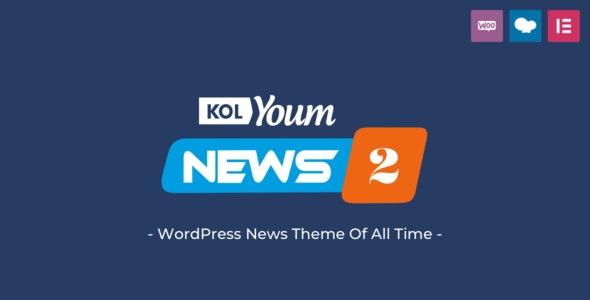 ThemeForest Kolyoum - Download Newspaper WordPress Theme