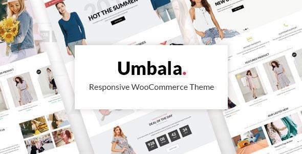 ThemeForest Umbala - Download Responsive WooCommerce WordPress Theme