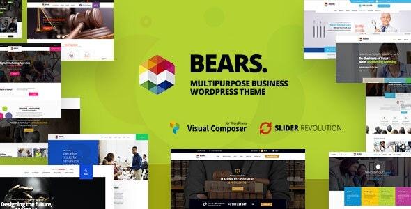 ThemeForest Bears - Download Multipurpose Business WordPress Theme