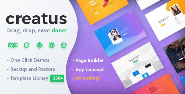 ThemeForest Creatus - Download Ultimate Multipurpose WordPress Theme