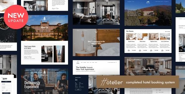ThemeForest Hoteller - Download Hotel Booking WordPress Theme