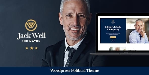 ThemeForest Jack Well - Download Elections Campaign & Political WordPress Theme