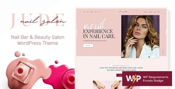 ThemeForest Jude - Download Nail Bar & Beauty Salon WordPress Theme