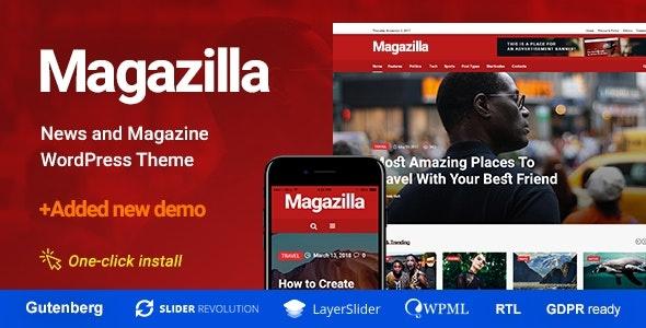 ThemeForest Magazilla - Download News and Magazine WordPress Theme