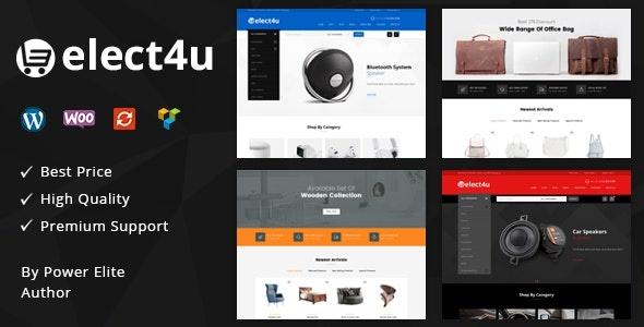 ThemeForest Elect4u - Download Multipurpose WooCommerce WordPress Theme