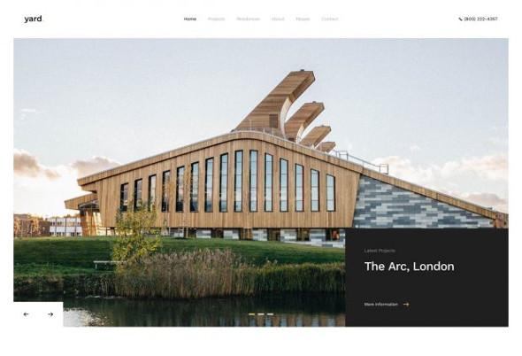 YooTheme Pro Yard - Download Architecture and Interior Design WordPress Theme