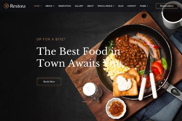 JoomShaper Restora - Download Restaurant Joomla Template