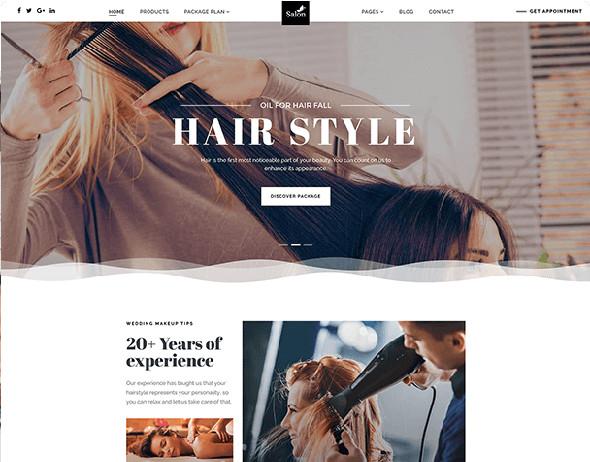 JoomShaper Salon - Download Spa, Beauty Care, Parlour Joomla Template