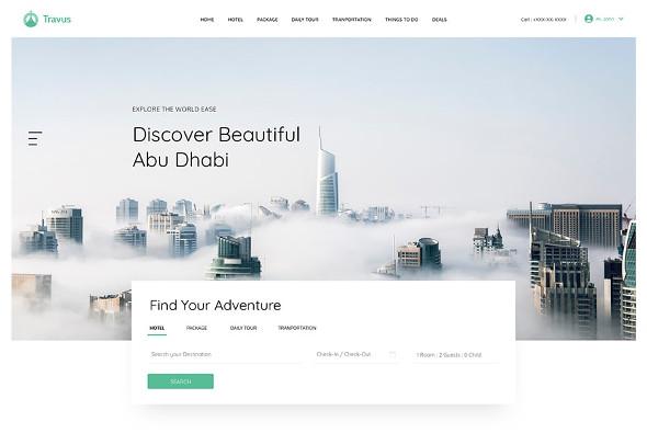 JoomShaper Travus - Download Booking and Vacation Rentals Joomla Template