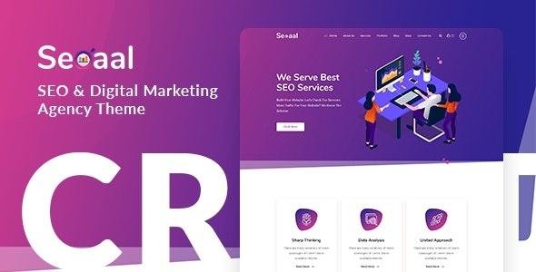 ThemeForest Seoaal - Download SEO and Digital Marketing WordPress Theme