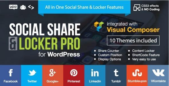 CodeCanyon Social Share and Locker Pro WordPress Plugin Download