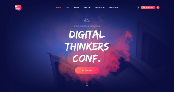 JA Conference - Download Events Template for Joomla