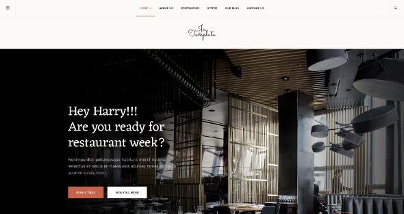 JA Diner - Download Restaurant Template for Joomla