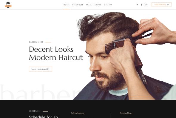 JoomShaper Barber - Download Hairdresser Joomla Template