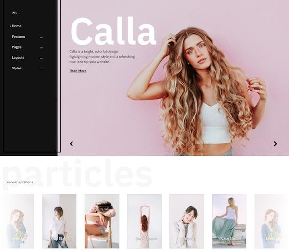 RocketTheme Calla - Download Fashion Template for Joomla