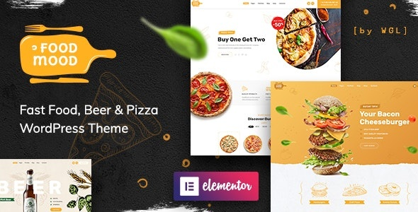 ThemeForest Foodmood - Download Cafe and Food Delivery WordPress Theme