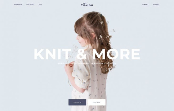 YooTheme Pro Balou - Download Beauty and Fashion Template for Joomla