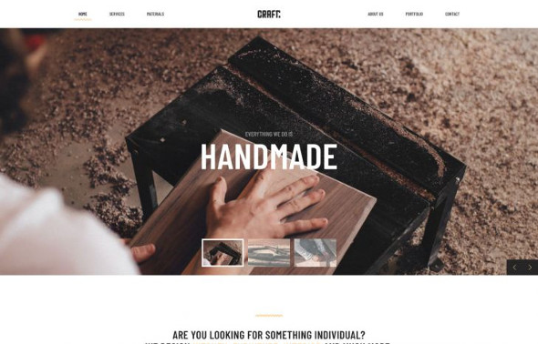 YooTheme Pro Craft - Download Handcraft, Services Template for Joomla