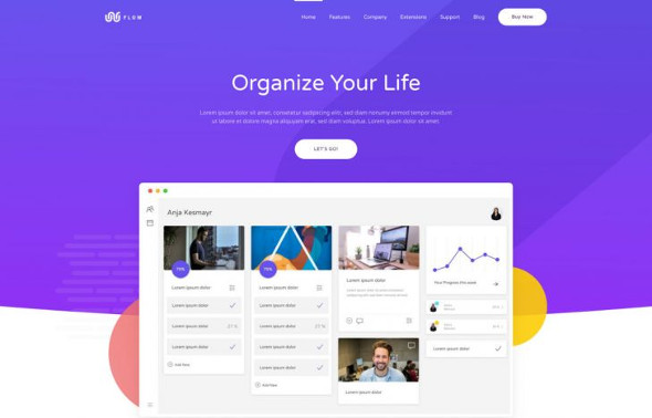 YooTheme Pro Flow - Download Software and Technology Joomla Template
