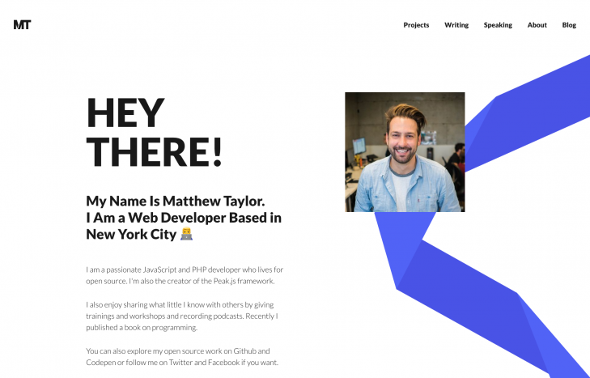 YooTheme Pro Matthew Taylor - Download Software and Technology Joomla Template