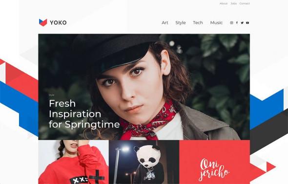 YooTheme Pro Yoko - Download News and Magazine Template for Joomla