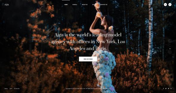JA Aiga - Download Multipurpose Joomla Template