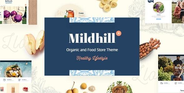 ThemeForest Mildhill - Download Organic and Food Store WordPress Theme