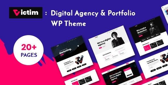 ThemeForest Victim - Download Digital Agency and Portfolio WordPress Theme