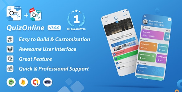 CodeCanyon Quiz Online Android Application Download