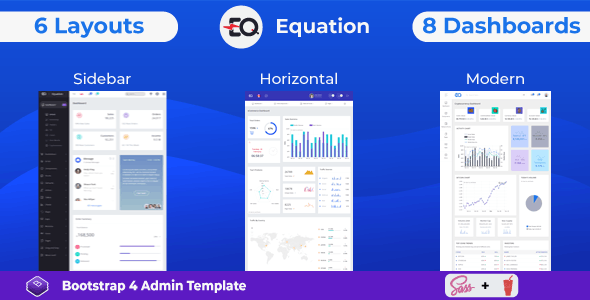 ThemeForest Equation - Download Responsive Admin Dashboard Template