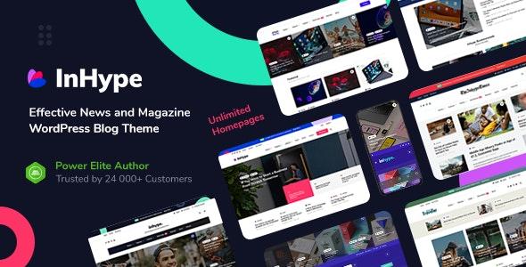 ThemeForest InHype - Download Blog and Magazine WordPress Theme