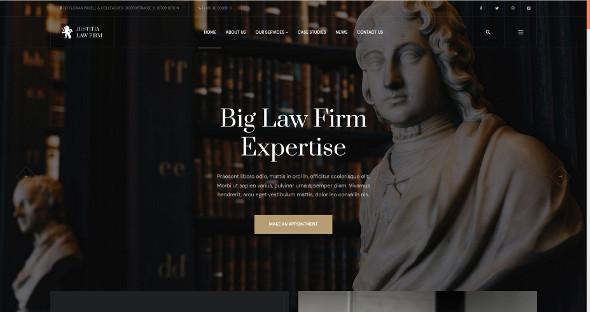 JA Justitia - Download Law Firm Joomla Template